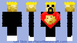 King of the potatoes Minecraft Skin