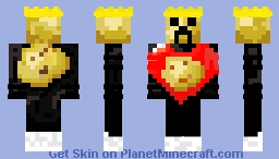king potato v.2 Minecraft Skin
