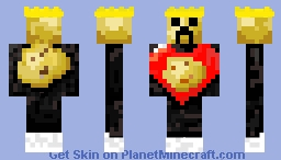 King of potatoes(fixed) Minecraft Skin