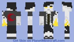 Stolen Power of Gods Minecraft Skin