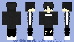 | * Black Version * | * Request colours and/or designs in the comments.* | Minecraft Skin