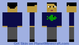 Aquarium Worker Minecraft Skin