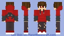 Red Flare Minecraft Skin