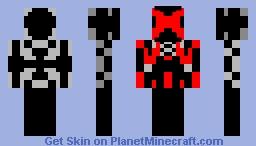 Robot Red Minecraft Skin