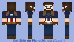 Nomad/Captain America (Infinity War) Minecraft Skin