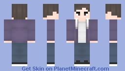 Purple Jacket Minecraft Skin
