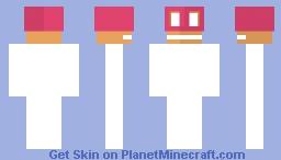 Cupcake Mask Base Minecraft Skin