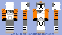 Commander Cody (Prequel) Minecraft Skin