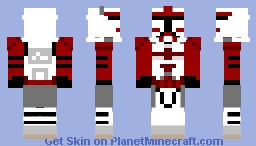 Commander Fox (Prequel) Minecraft Skin