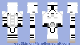 Clone Jet Trooper (Prequel) Minecraft Skin