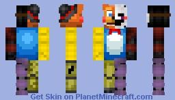 FNAF- Skin Mashup (Fnaf 2) Minecraft Skin