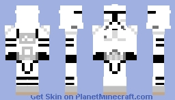 Phase II Clone Trooper (Prequel) Minecraft Skin