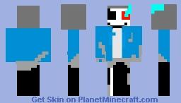 Dusttale Sans Minecraft Skin