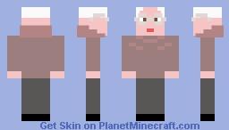 Bernie Sanders Minecraft Skin