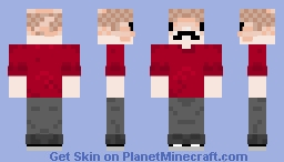 It's Grian... or Grain... or a Cod, whatever :))))) Pesky bird Minecraft Skin