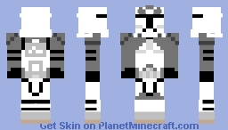 Wolf Trooper (Prequel) Minecraft Skin