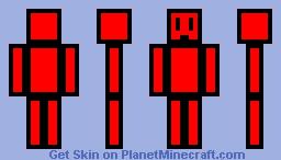 MrDooper-Red Minecraft Skin