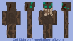 the eyes (from spooky month) Minecraft Skin