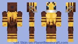 Bee w/ Mask Minecraft Skin