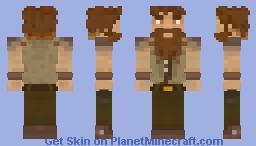 Bearded Man Minecraft Skin