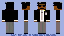Dancing Coffin Minecraft Skin