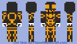 TRON JackSkellingtonMC Minecraft Skin