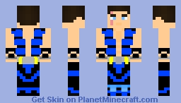 Sub Zero Kuai Liang (Mortal Kombat3/Trilogy) Minecraft Skin