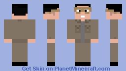 Kim Jong-il (Remastered) Minecraft Skin