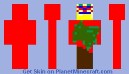 Humanoid Creature Animal-886 Minecraft Skin
