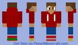 random teenager who likes sonic Minecraft Skin