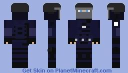 French GIGN Minecraft Skin