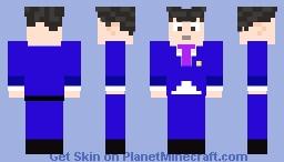Phoenix Wright (Phoenix Wright: Ace Attorney) Minecraft Skin