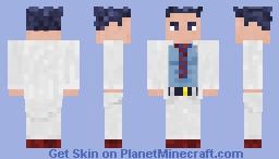 The Scientist Minecraft Skin