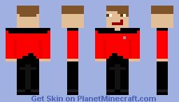 Starfleet Officer Minecraft Skin