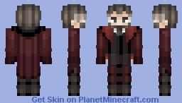 Berezovich Kryuger - Girls Frontline / Request Minecraft Skin