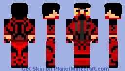 DARK Firebringer Minecraft Skin
