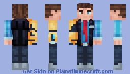 Rhys | Tales from the Borderlands Minecraft Skin