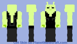 Buff Alien Minecraft Skin