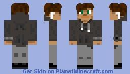 Boy With Airpods Minecraft Skin