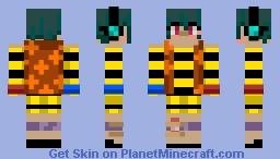 First skin of them all. Minecraft Skin