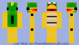 Mecha Koopa Minecraft Skin