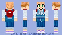 Animal Crossing: New Horizons - Cover Art Girl Minecraft Skin