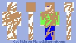Muddy Man Minecraft Skin