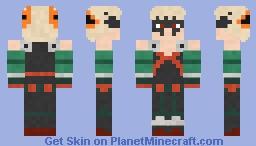 Katsuki Bakugo Minecraft Skin
