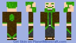 Herald the Earth Dwemmer Minecraft Skin
