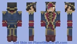 [X] Imperial Commissar Minecraft Skin