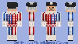 Swiss Halberdier Minecraft Skin