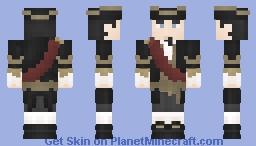 [LOTC] Black n gold Minecraft Skin