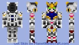 Gundam Barbatos - ASW-G-08 Minecraft Skin