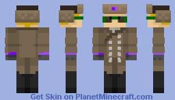 Zhozhen(Army) Minecraft Skin